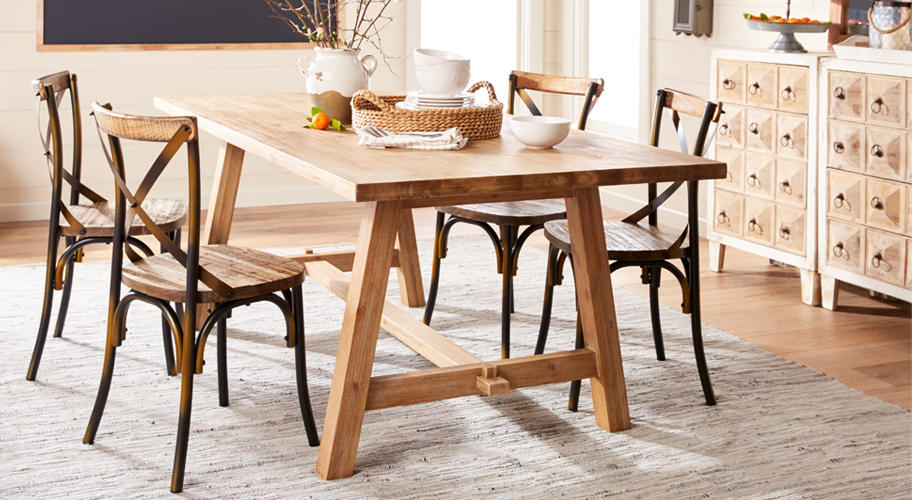 Furniture   Walmart com Country Charm  Create the perfect setting for meals with friends   family  with farmhouse dining