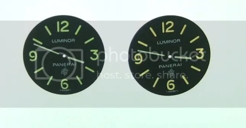 PAM 000 LOGO DIALS   Replica Watch Info UNIT PRICE  US  35 00 PC OR US  60 00 2 DIALS