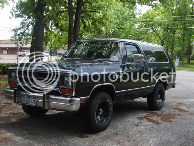 Lifted 1990 50 Dodge Ram