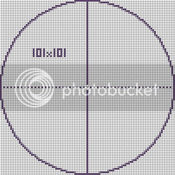 Big Minecraft Circle Chart