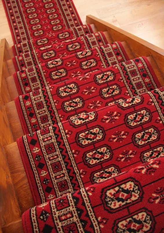 Traditional Red Black Stair Carpet Runner Rug Narrow Extra | Narrow Carpet Runners For Stairs
