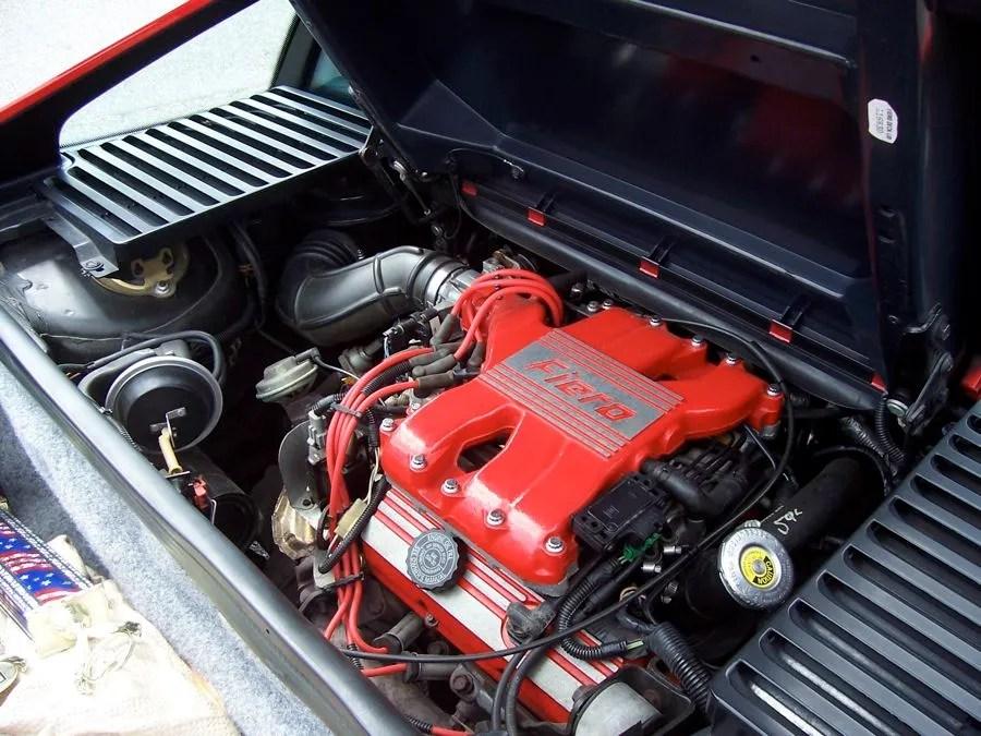Fiero Gt Bay Engine 1988