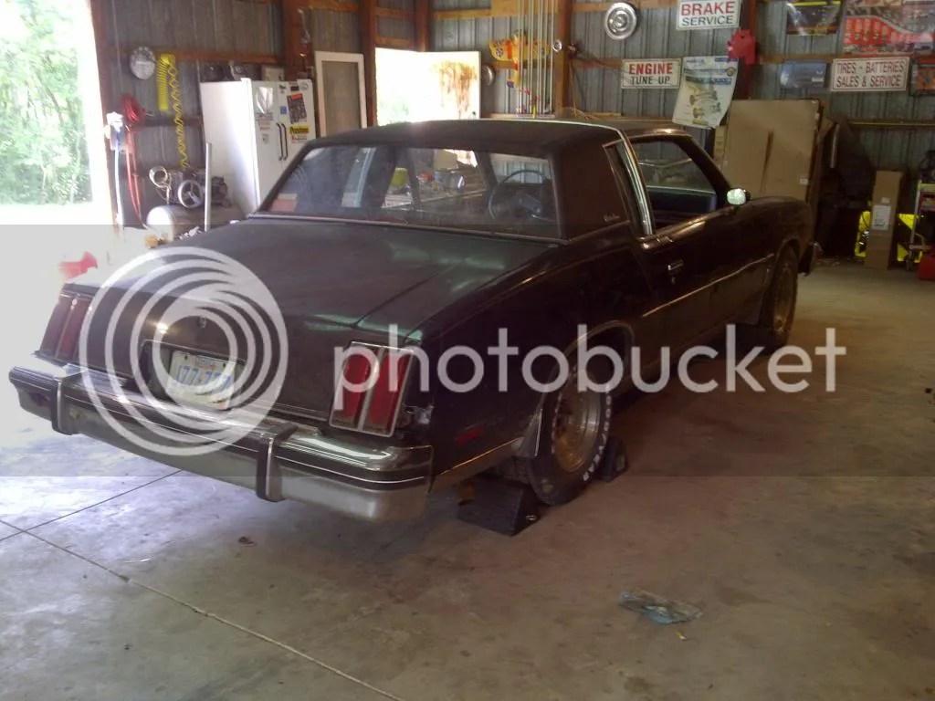 79 Parts Cutlass Supreme Interior