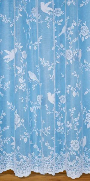 Discount Lace Curtains Heavy Cream