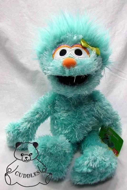 Rosita Sesame Street St Gund Plush Toy Stuffed Animal ...