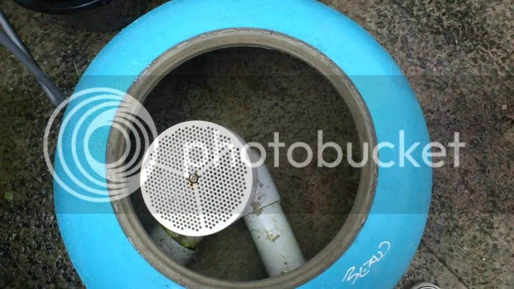 Pond Design Bottom Drain