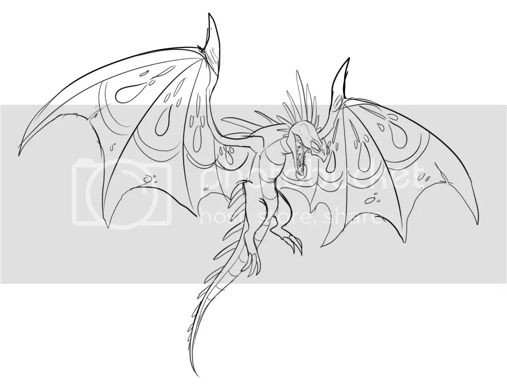 Flightmare Dragon Coloring Page Coloring Pages