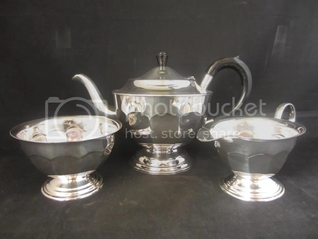 Silver Tea Epns Plated Set