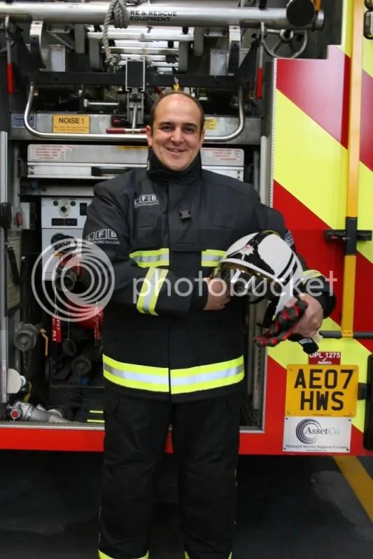 London Fire Brigade Turnout Gear