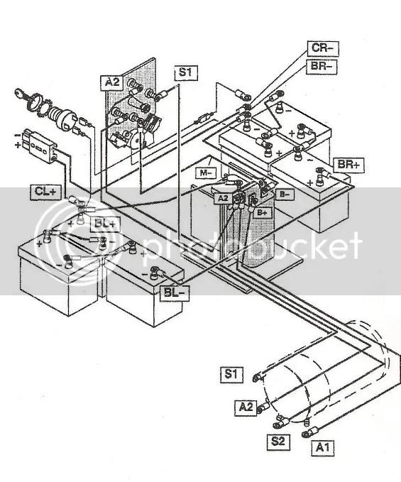Electric Golf Cart Wiring Schematic