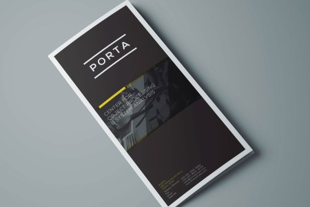 Free Tri Fold Brochure Template  PSD  Ideal for Event or Business Freebie  Tri Fold Brochure Template  PSD