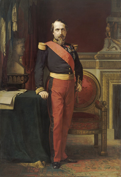 Porträtt av Napoleon III