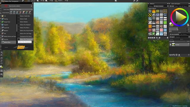 With Faster Modern Interface Painter 2019 Expands Digital Art Tools Digital Trends