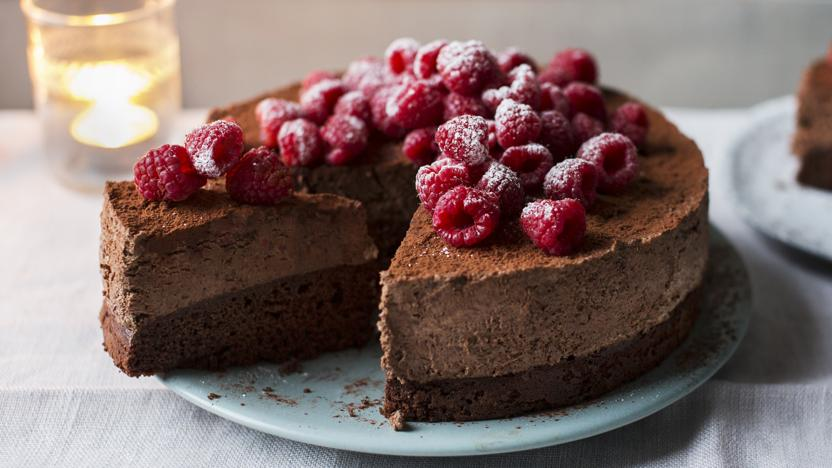 Mary Berry S Chocolate Mousse Cake Recipe Bbc Food