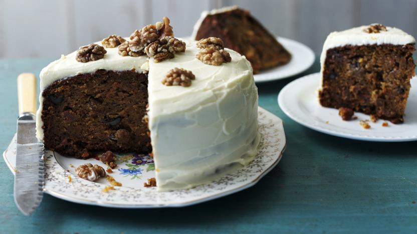 Classic Carrot Cake Recipe Bbc Food