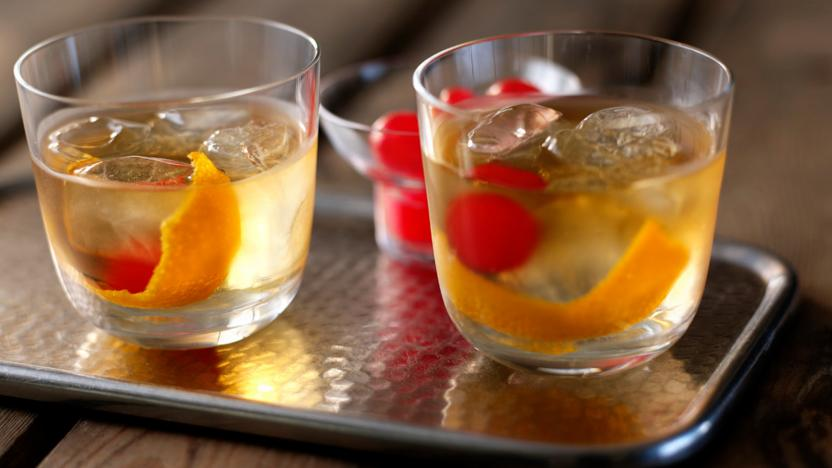 Old fashioned whisky cocktail recipe   BBC Food Old fashioned whisky cocktail