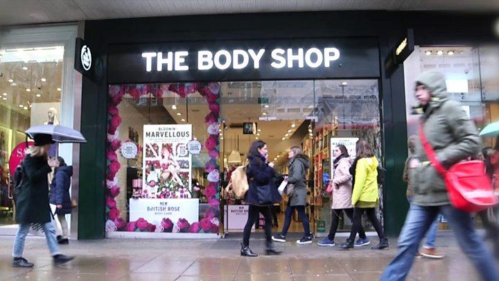 Body Shop Tucson Mall Directory