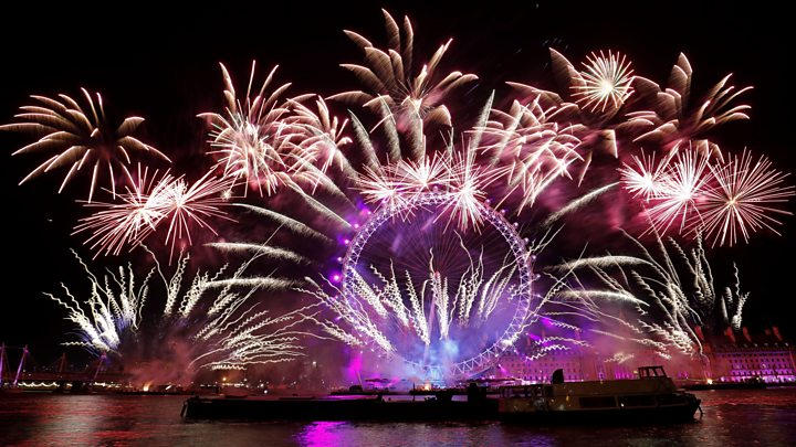 Spectacular new year firework displays welcome 2018   BBC News