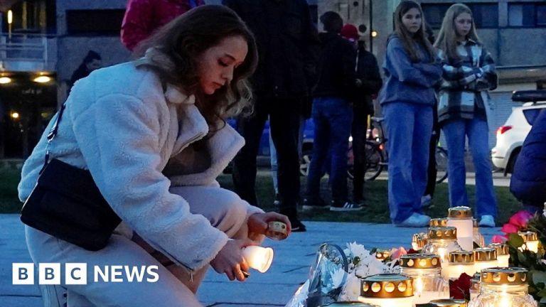 Watch Kongsberg assault: Norwegian city left asking questions after murders – BBC English News
