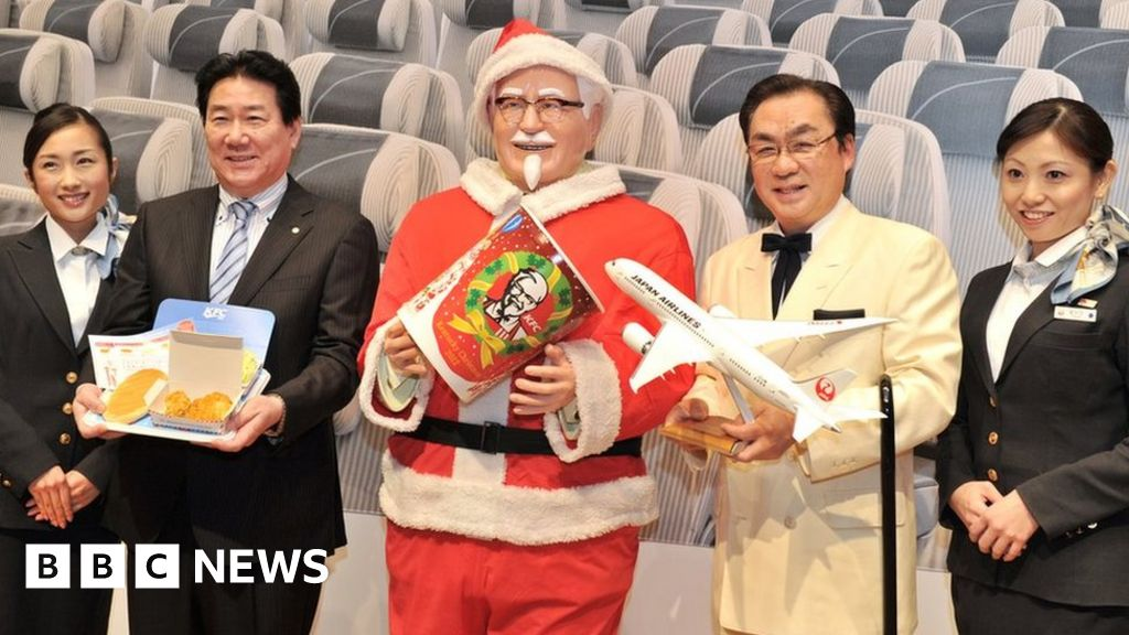 The real reason Father Christmas wears red and white - BBC ...