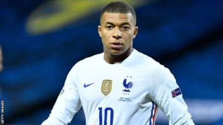 Kylian Mbappe: France Forward Tests Positive For Coronavirus - BBC Sport