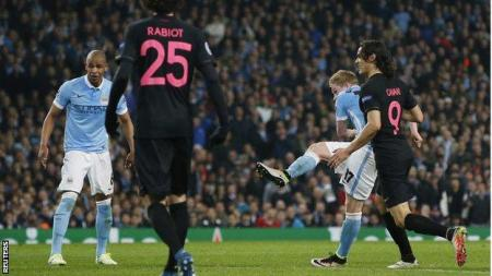 Manchester City 1-0 Paris St-Germain (3-2 Agg) - BBC Sport