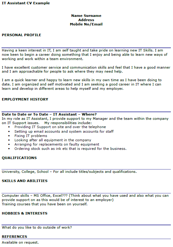 First Do Yourself Resume