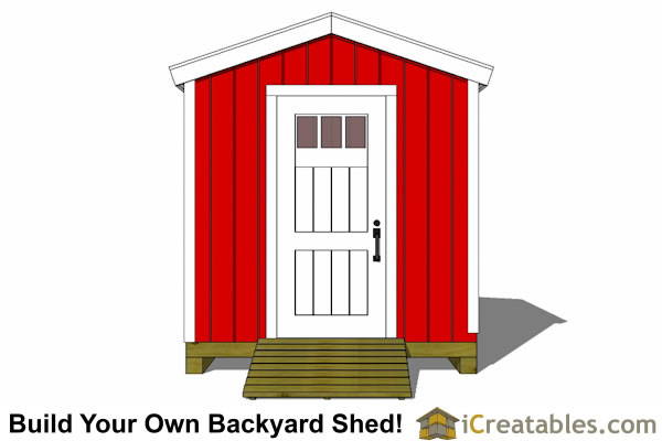 How Build 6x4 Garden Shed