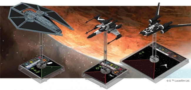 Wars Wing X Star Miniatures Game