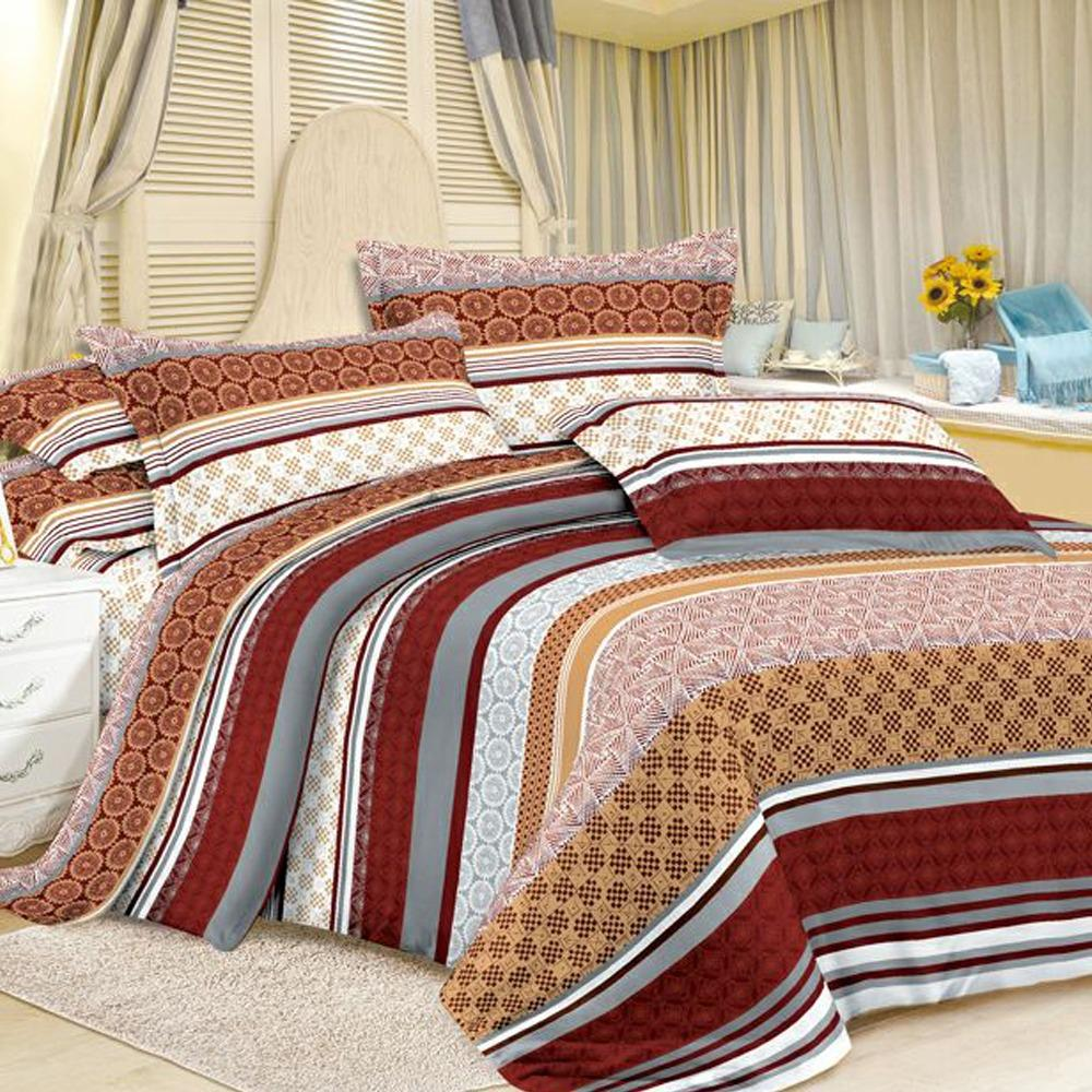 Adelaides Bed Cover Set Polyester Ukuran 180x200 cm