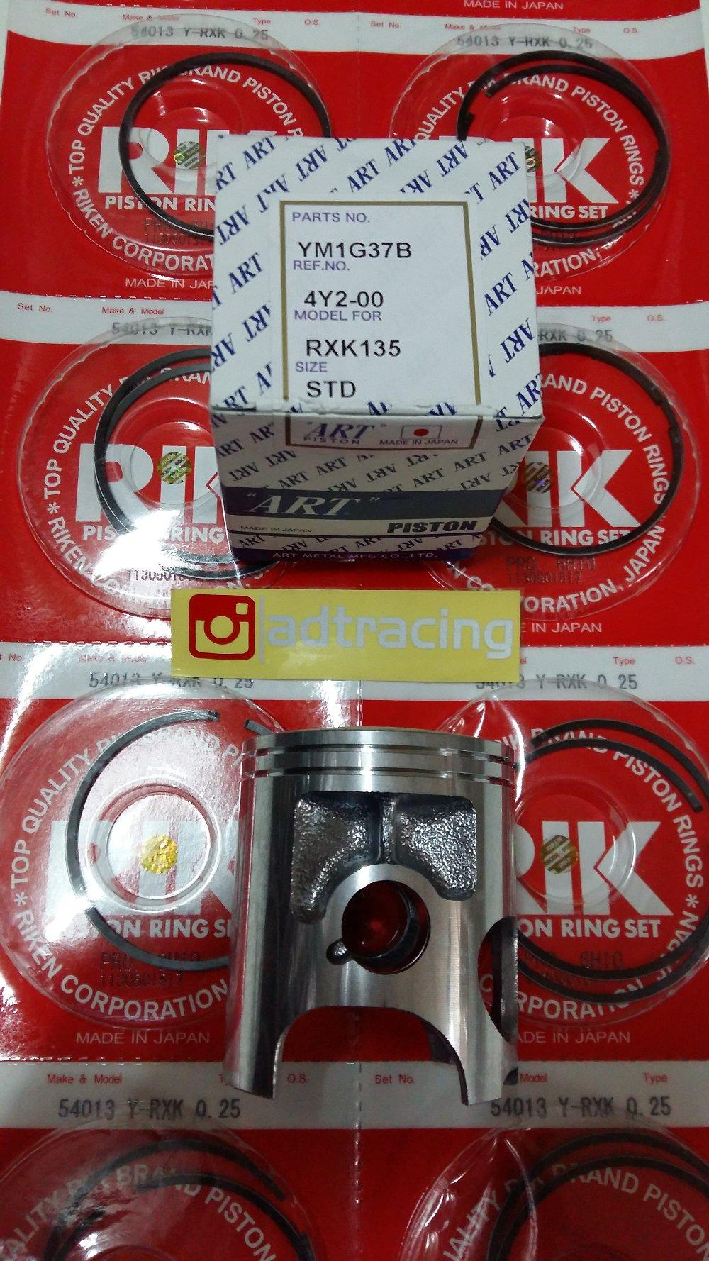 PISTON RX KING ART JAPAN sparepart murah