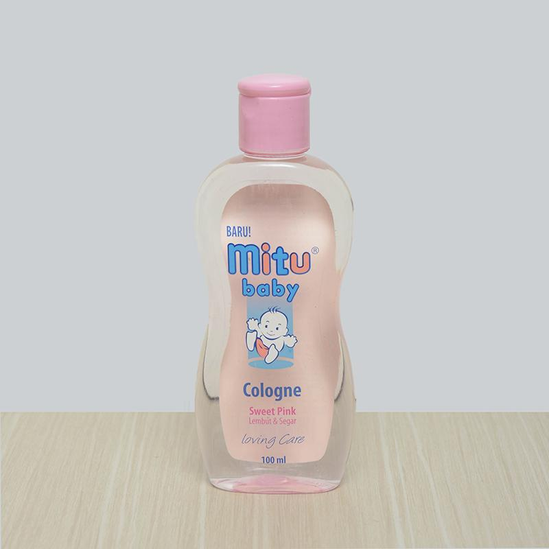 Mitu Baby Cologne Sweet Pink 100ml