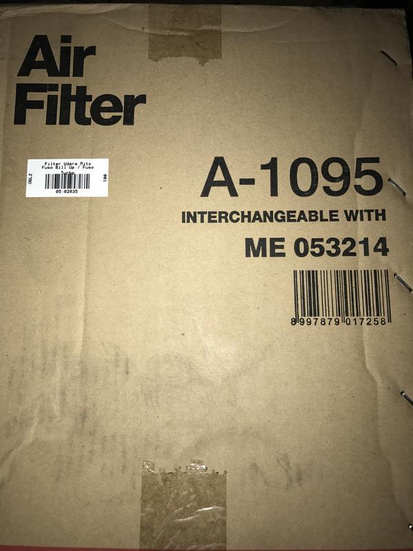Filter Udara Mitsubishi Fuso Bill Up sakura   A-1095   -02035-