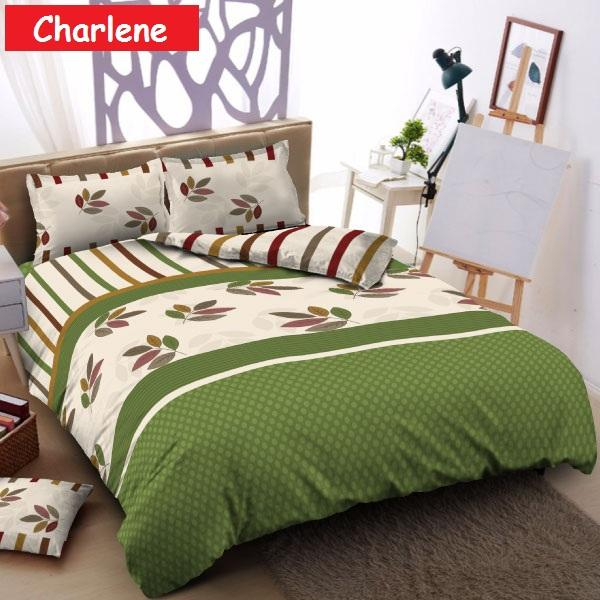 Kintakun D'Luxe Bed Cover Set Uk. 180x200 - Charlene