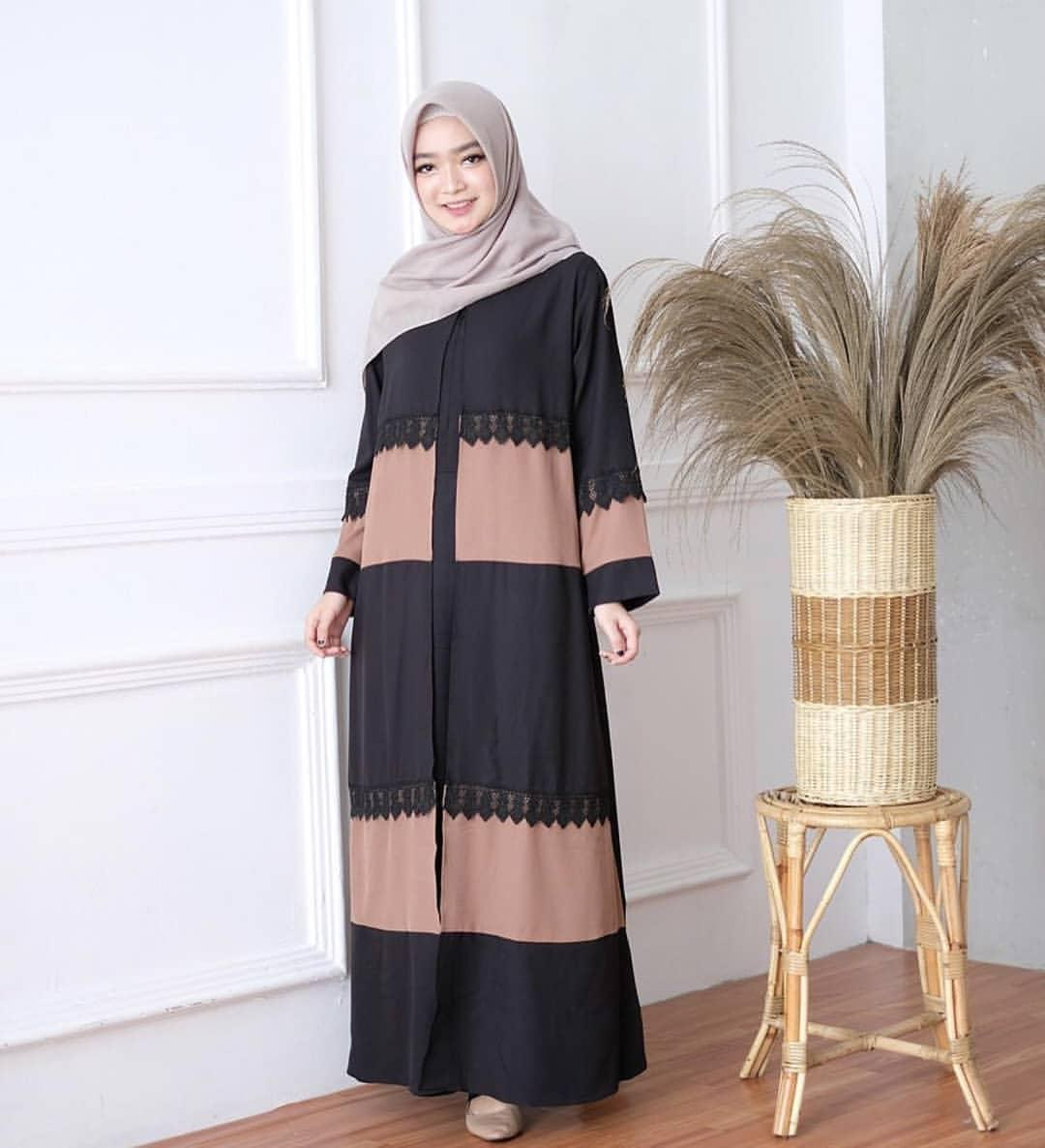 Model Baju Renda Abaya 2