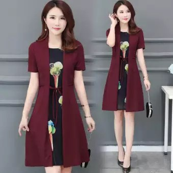 Model Baju Dress Pendek 8