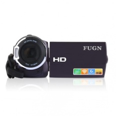 FUGN HD Home Pariwisata Digital Kamera Video DV HD-F910 Hitam-Intl-Intl