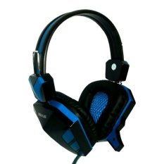 Rexus Gaming Headset Extream F22 Gaming High Quality - Biru
