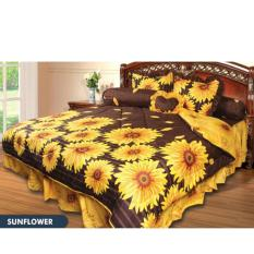 Bed Cover California - Sun Flower - King 180x200