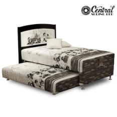 Central Springbed 2In1 Gold - Sabrina 090X200