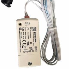 Paten Terbaru 250 W IR Sensor Switch 100-240 V Cerdas LightLamps Penginderaan Gerak Switch IP20 For The Bathroom Kabinet Lemari-Intl