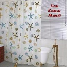 Sien Colletion Tirai Kamar Mandi - Shower Curtain