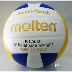 BOLA VOLLY/VOLI/VOLLEY/VOLLI MOLTEN V58SLC1 GOLD (THAILAND)