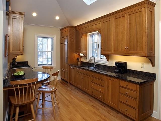 Oak Kitchen Foto