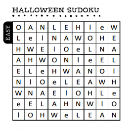 free halloween party games printables # 21