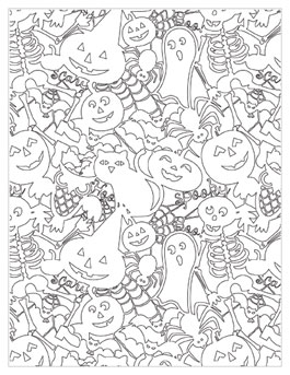 coloring pages halloween # 59
