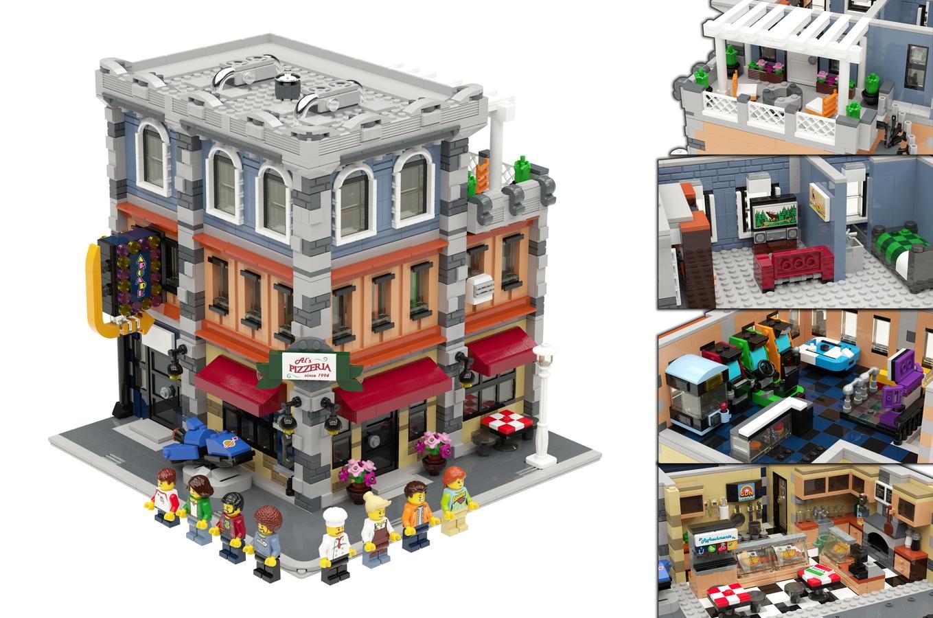 Lego Ideas Product Ideas Modular Arcade