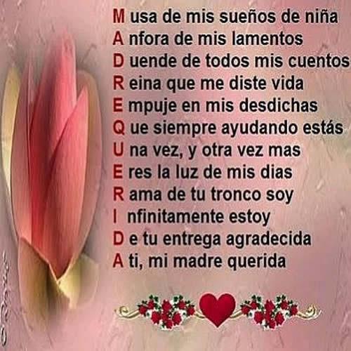 Poemas De Amor Para Una Madre