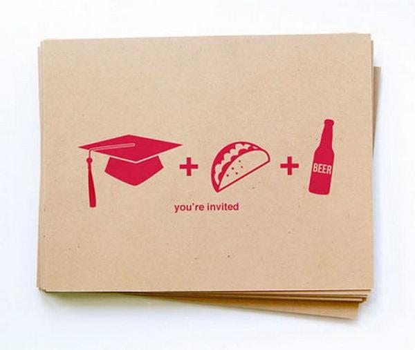 Creative Graduation Announcements