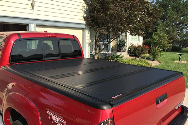 Bak Bakflip G2 Hard Folding Tonneau Cover 226307 Clamps